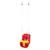 Hojdacka LEQ DEBBI, 28x36x42 cm, detská, plastová