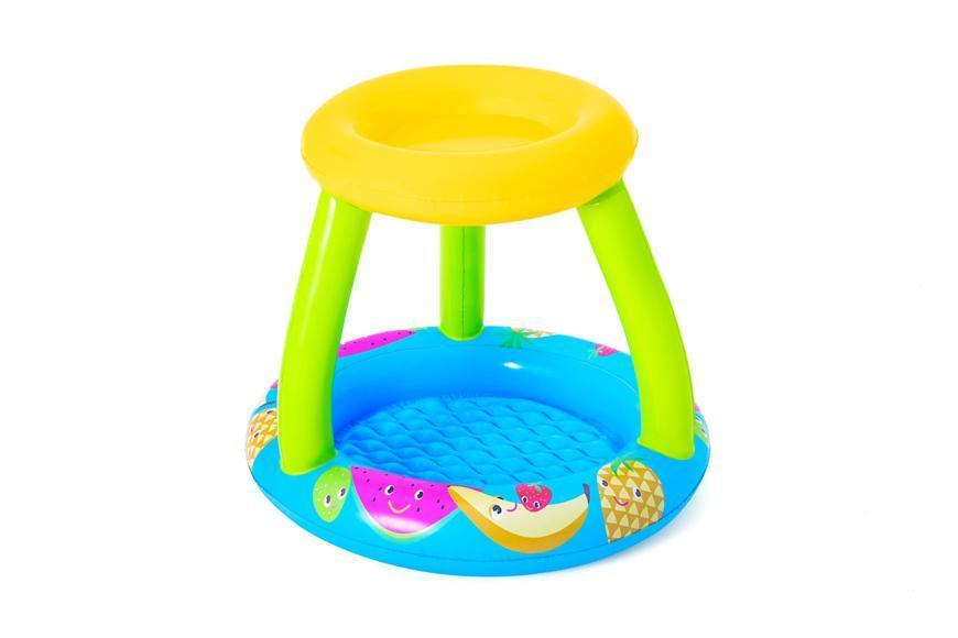 Bazénik Bestway® 52331, Fruit Canopy, detský, nafukovací, so strieškou, 0,94x0,89x0,79 m