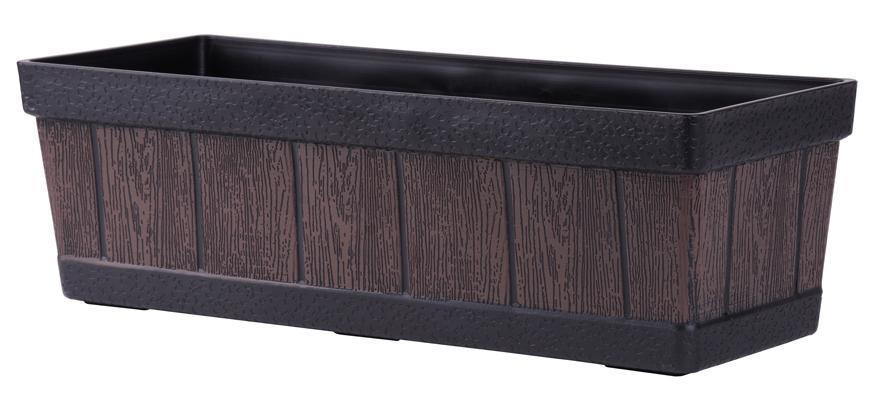 Kvetinac GDA Woodeff 816, teak, 46x17x14 cm