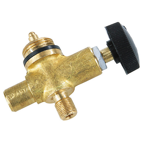 Plynový ventil Meva 2157, LPG, jednocestný regulátor, závit M9x0.75 mm