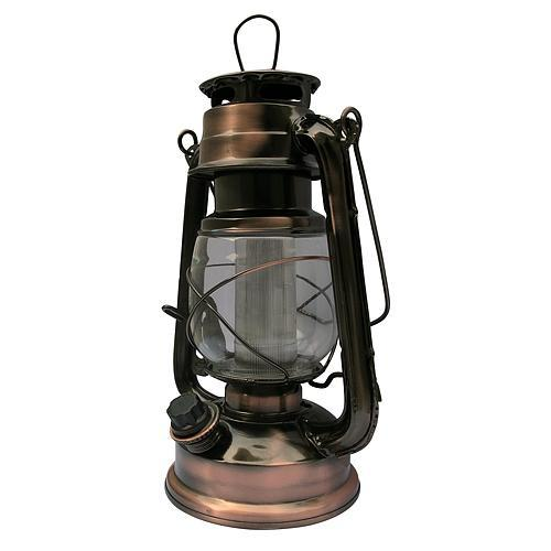 Lampas MagicHome ML3525, 16 LED, 15x11,5x23,5 cm, 2xD, kov, medený
