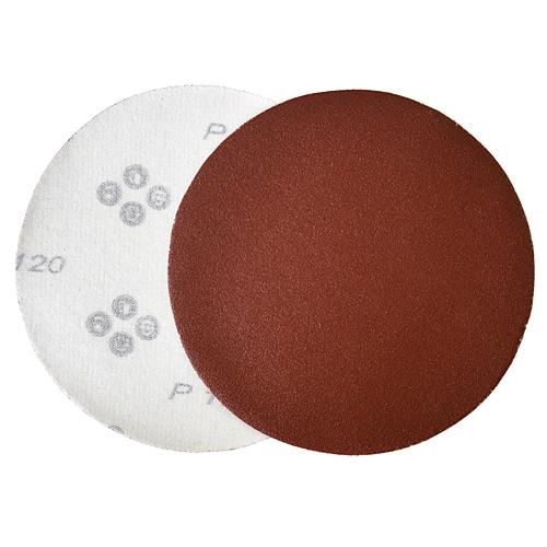 Výsek KONNER D30 125 mm, P120, brúsny, okrúhly, bez dier, AluOxide