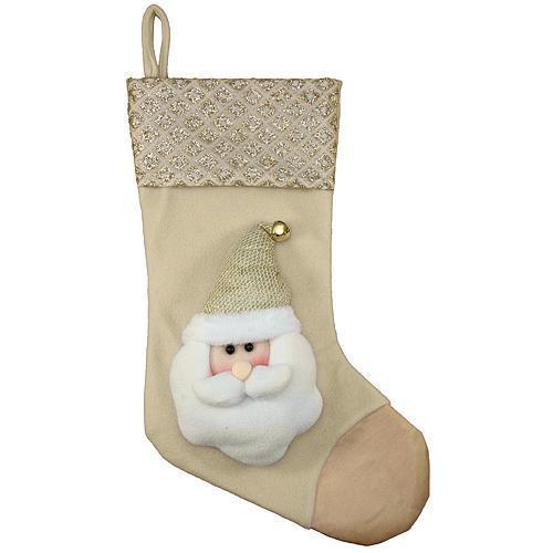 Dekoracia MagicHome, Ponožky Santa, 50 cm