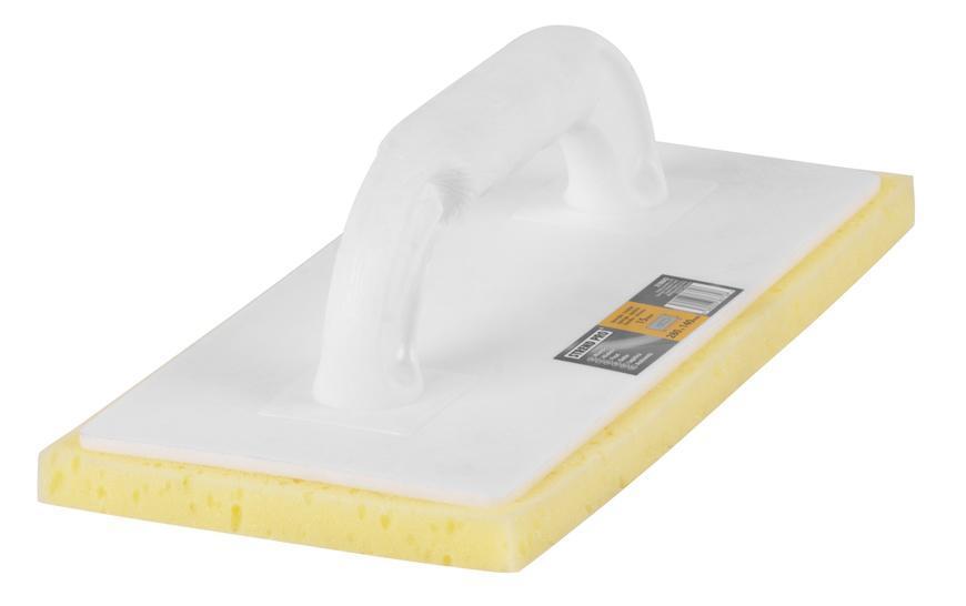 Hladítko 0813.005 280x140/15 mm, molitan žltý, rezaný