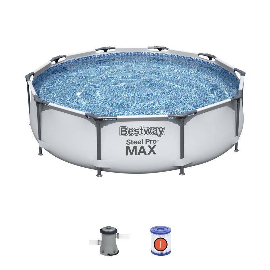 Bazen Bestway® Steel Pro MAX, 56408, 305x76 cm, filter
