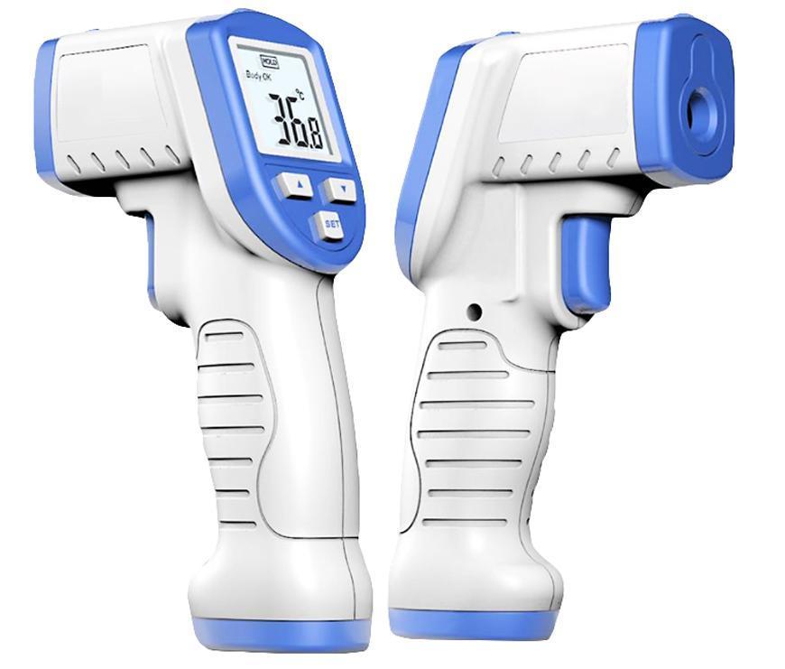 Teplomer Strend Pro SW-3361, +32°C až +45°C, infračervený bezkontaktný