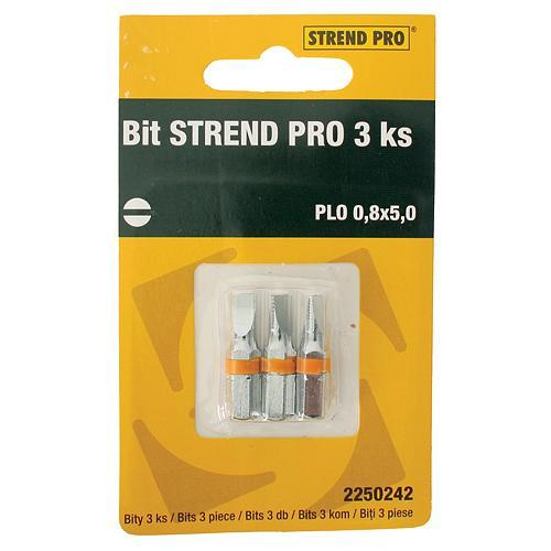 Bit Strend Pro Plochý 0,8x5,0, bal. 3 ks