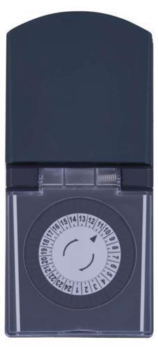Časovač EMOS P5508, IP44, mechanická spínacia zásuvka, 230 V, 3680 W