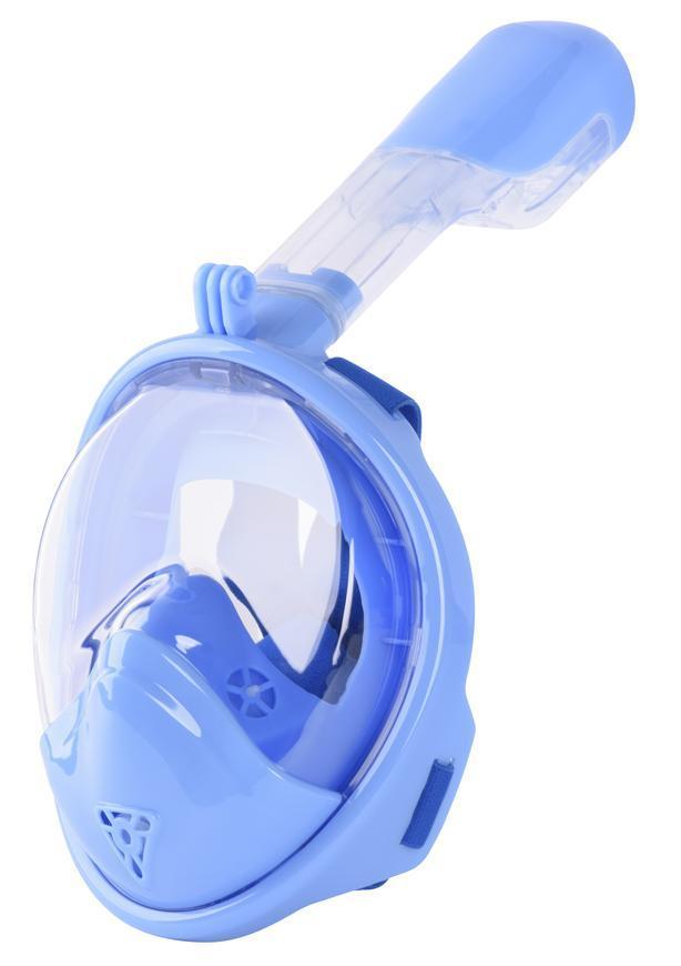 Maska šnorchlovacia Dory, celotvárová, pre deti 4+, XS, modrá