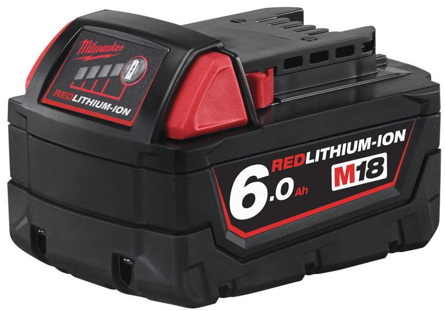 Akumulator Milwaukee M18 B6 Li-ion, 18V, 6.0 Ah