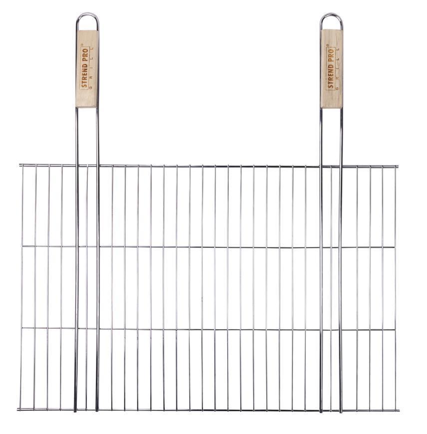 Rošt BBQ 4411B, 380x580/620 mm, drôtený