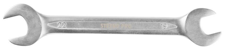 Kluc Strend Pro 3113 19x22 mm, vidlicový, Cr-V