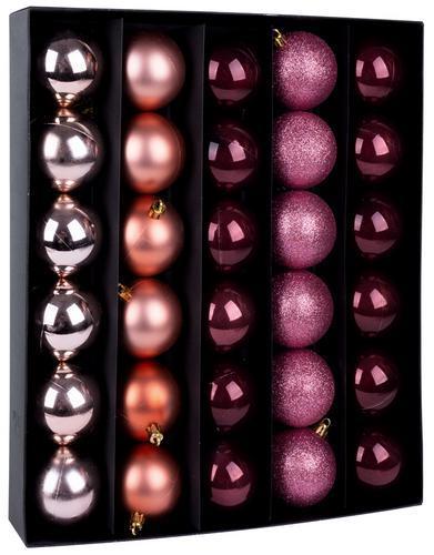 Gule MagicHome XD425, 30 ks, 6 cm, medené, na vianočný stromček