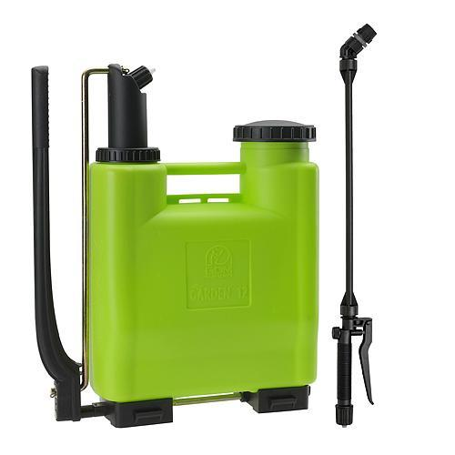Postrekovač dimartino® Garden 12, 11.00/11.60 lit, 2/5 bar, nyplen, HERMETIC 100%, teleskopická tyč 70-110cm, chrbtový