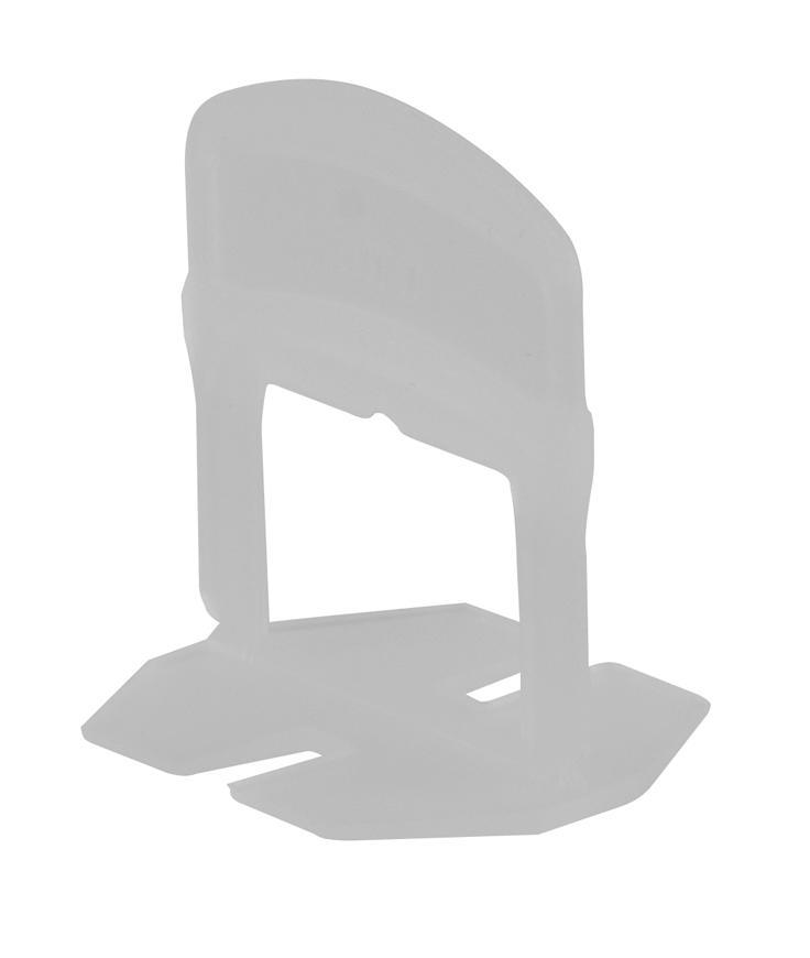 Medzerník Strend Pro LS210W, pod obklad, 2.0 mm, bal. 100 ks, plast biely