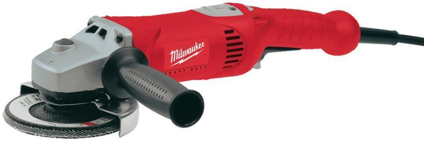 Bruska Milwaukee® AG 16-125 Inox, 125 mm, 1520W, protector-motor, uhlová