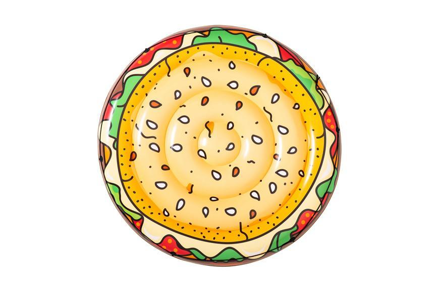 Leňoška Bestway® 43250, Burger, 158 cm, nafukovacia