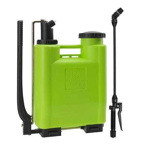 Postrekovač dimartino® Garden 15, 13.50/14.25 lit, 2/5 bar, nyplen, HERMETIC 100%, teleskopická tyč 70-110cm, chrbtový