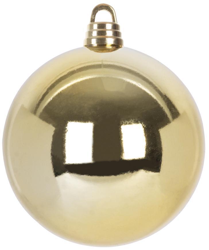 Guľa MagicHome Vianoce, 1 ks, 30 cm, zlatá, na vianočný stromček