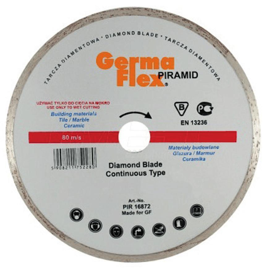 Kotuc GermaFlex Piramid Continous 115x22,2 mm, diamantový, hladký