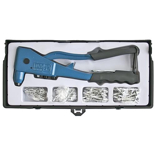 Kliešte Strend Pro R1001 SET, nitovacie, + 100 ks nitov, professional