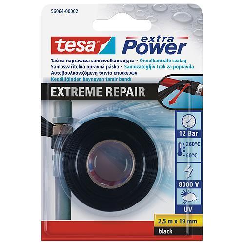 Páska tesa® Extreme Repair, samovulkanizačná, 19 mm, L-2.5 m