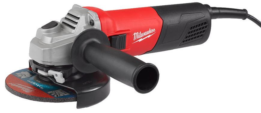 Bruska Milwaukee® AG 800-125 EK, 125 mm, 800W, uhlová