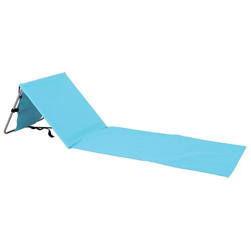 Podložka DOMINICA, modrá, 150x51 cm, 13 mm, plážová, lehátko