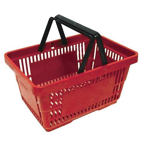 Košík Racks Shopper, 20 lit, červený, nákupný
