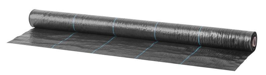 Textília Garden H1102 1,0x20 m, 100 g/m2, tkaná, čierna