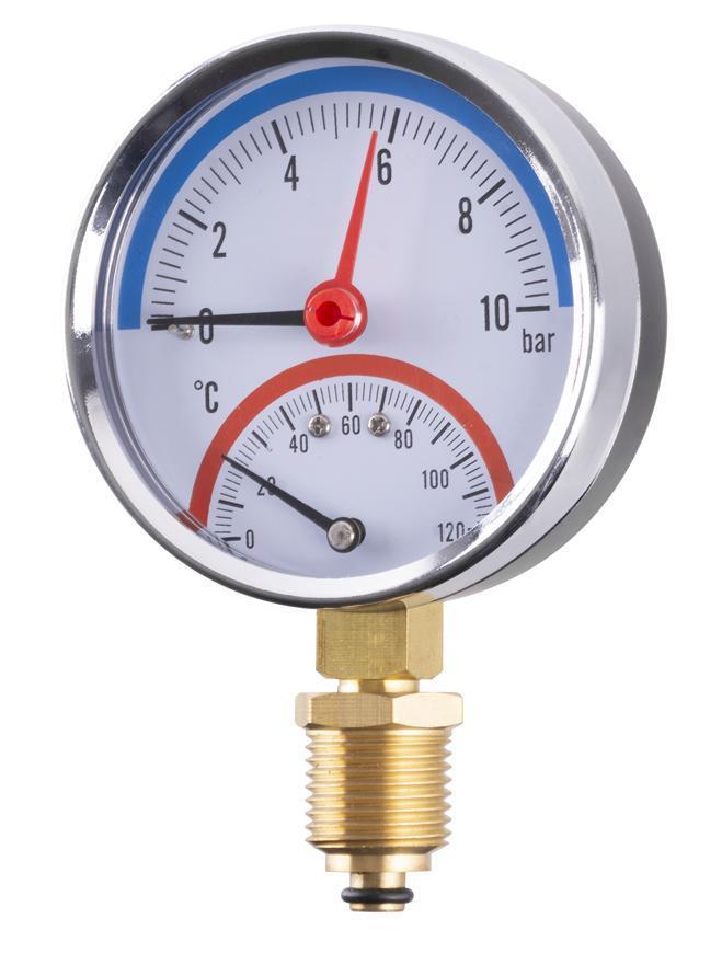 Manometer MA246, 80 mm
