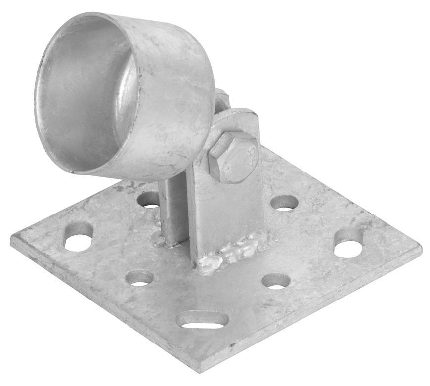 Pätka Strend Pro METALTEC, pre podperu 48 mm, na ukotvenie, kĺbová, Zn