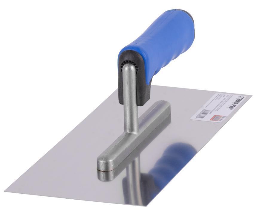 Hladítko Strend Pro Premium, 270x130 mm, nerezové, s plastovou rúčkou