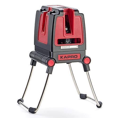 Laser KAPRO® 873S Prolaser® Vector, krížový + bočný, RedBeam, so statívom 3,2 m