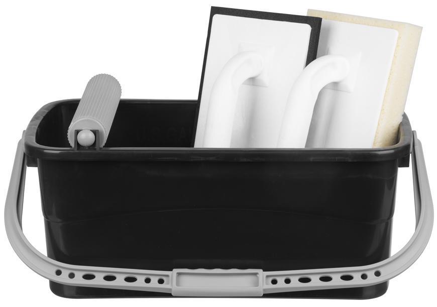 Sada Strend Pro P1102, vedro 12 lit. s valčekom + hladítko EVA 08 mm + hladítko špongia 30 mm
