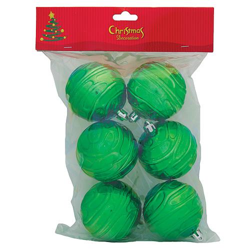 Gule MagicHome Vianoce, 6 ks, zelené