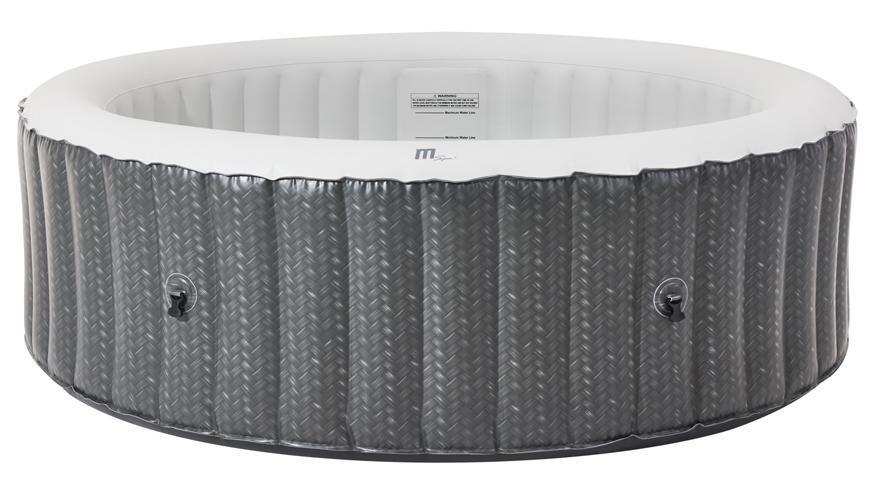 Vírivka MSpa® Ottoman, 6 osôb, 930 lit., 204x070 cm
