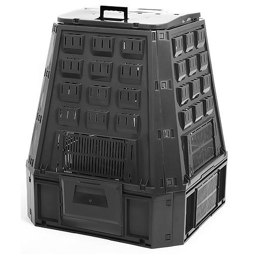 Komposter EVOBLACK, 630 lit, čierny
