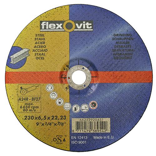 Kotúč flexOvit 20451 230x6,5 A24R-BF42, rezný na kov