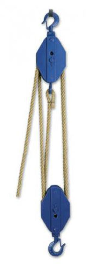 Kladkostroj Brano K10 0,5 t, obecný, konopne lana