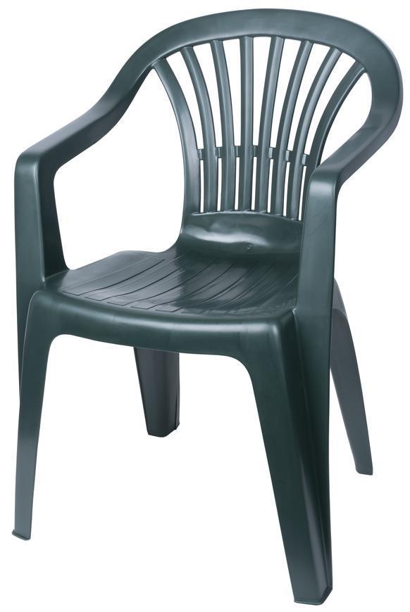 Stolička ALTEA Green, zelená, 80x56x54 cm