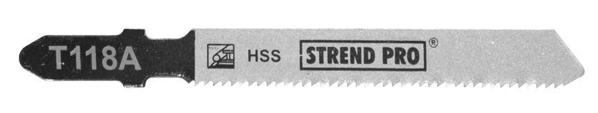 List do priamočiarej píly Strend Pro T118A 77 mm, 21z, na kov, bal. 5 ks