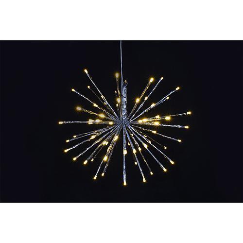 Guľa MagicHome Vianoce Supernova, 30 cm, 64xLED, IP20, interiér