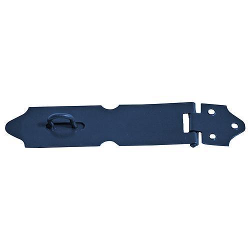 Petlica na dvere T0261B • 130 mm, okrasná, čierna