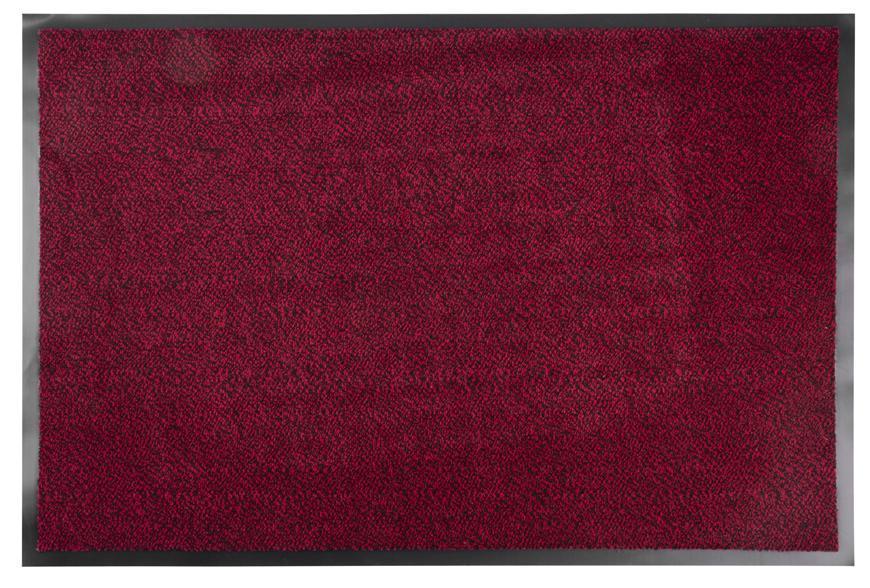 Rohožka MagicHome CPM 303, 60x90 cm, čierna/červená