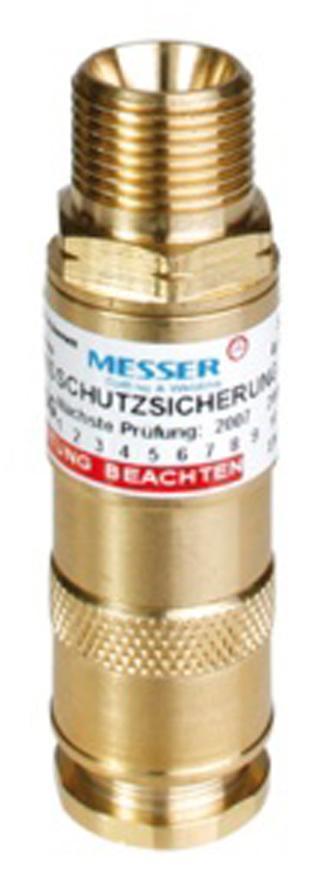 "Poistka Messer 0.463.356, DKSG • G3/8"" RH, Oxy, 20bar"
