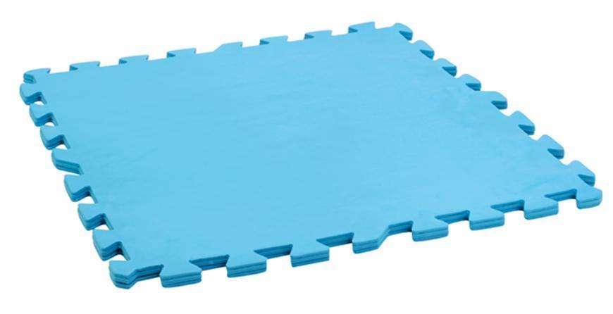 Podlozka EVA MT510 500x500x10 mm, modrá, bal. 9 ks EXTRA STRONG, pod bazen