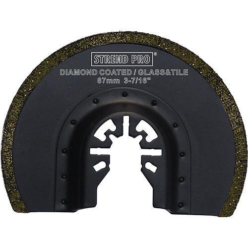 Nástroj Strend Pro DS-R012 pílový list - polkruh karbidový, na multibrúsku, 85 mm, G050