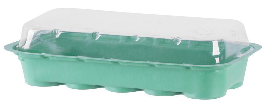 Miniparenisko Herrison MG-027, s 10 rašelinovými tabletami , 26x12.5x4 cm