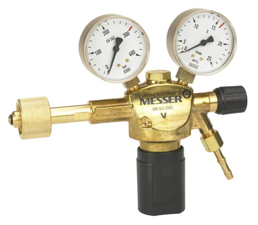 """Ventil Messer 717.07419, G1/4"""", DN6, 16l/min, Ar/CO2, vstup 300bar"""